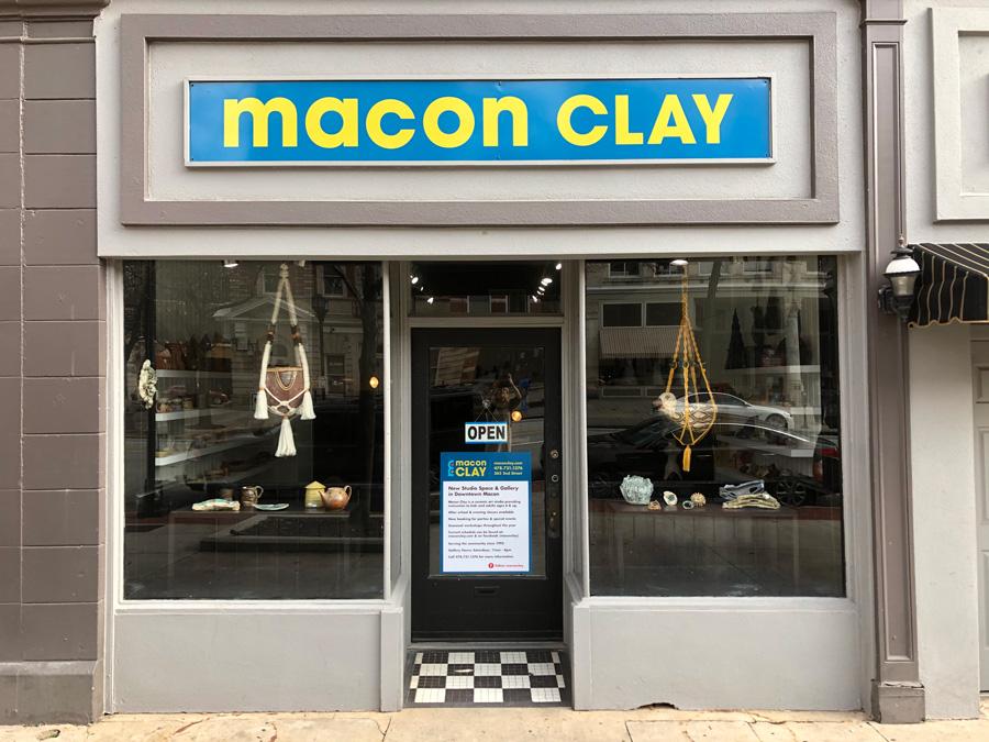 Macon Clay Studio in Downtown Macon